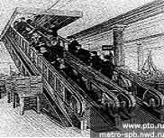 Эскалатор фирмы Otis, 1900 г.