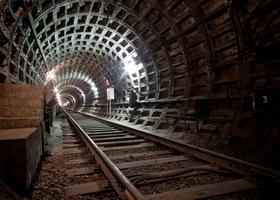 Тупик станции «Ломоносовская»