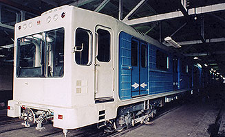 Вагоны модели 81-550/551/552