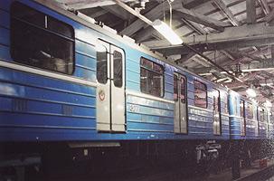 Опытные вагоны модели ЭС-719 и ЭС-720