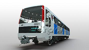 Фотогалерея вагонов модели 81-722/723/724