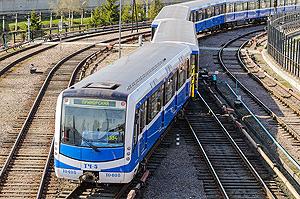 Вагоны модели 81-556/557/558 Нева
